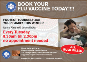 Book a Flu Vaccine with our Doctor